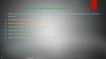 Engage NY:  Module 6 - Lesson 3:  Four Seasons in One Year