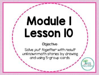 Engage NY Math Smart Board 1st Grade Module 1 Lesson 10