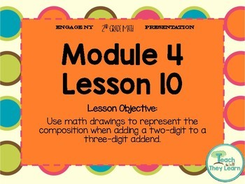 Engage NY Smart Board 2nd Grade Module 4 Lesson 10