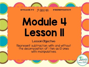 Engage NY (Eureka Math) Presentation 2nd Grade Module 4 Lesson 11