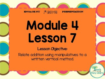 Engage NY Smart Board 2nd Grade Module 4 Lesson 7