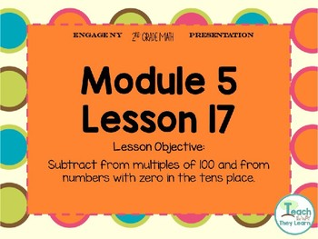 Engage NY Smart Board 2nd Grade Module 5 Lesson 17