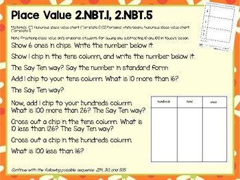 Engage NY (Eureka Math) Presentations 2nd Grade Module 5 Topic A Lessons 1-7