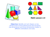 NY Engaged Math Module 2, 9 Lessons in Powerpoint (Kindergarten)