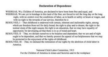 ENGAGE NY MODULE 1 COMMON CORE TIE-IN: DECLARATION OF DEPENDENCE