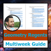 NY Geometry Multi-Week Regents Prep Guide