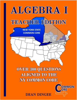 NY State Common Core Algebra Review - Teacher Edition