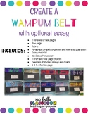 NY State Expeditionary Learning Wampum Belt Design & Essay