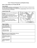 US History Regents Review: Westward Expansion and Manifest