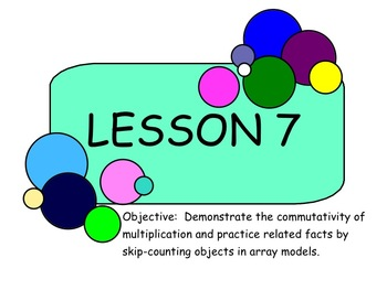 NY Third grade math module 1 lesson 7-9
