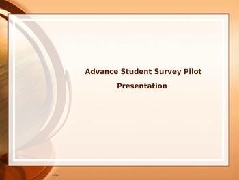 NYC Advance Student Tripod Survey Presentation