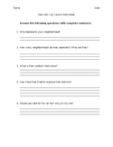 NYC Council Research Worksheet