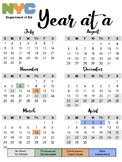 NYC DOE 2018-2019 Calendar