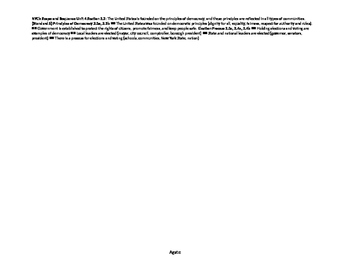 NYC DOE Grade 2 Unit 4 Government Problem and Solution Steps