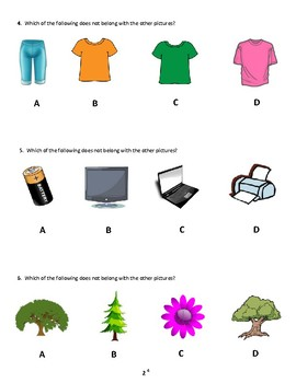 NYC Gifted and Talented Simulated Practice Test Questions (K and 1st Grade)