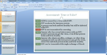 NYC Grade 5 HIV/AIDS Curriculum Powerpoints