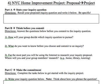 NYC Home Improvement Project
