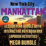 NYC Manhattan Lesson Plans, Test Prep, and Interactive Notebook MEGA Bundle