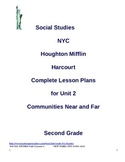 NYC Social Studies 2nd Grade Unit 2 Lesson Plans (BUNDLED)