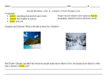 NYC Unit 3 Social Studies Notebook