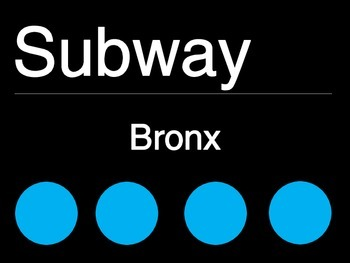NYC classroom theme- Subway Table Signs