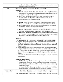 NYCDOE Passport to Social Studies Grade 5: Migration Theories Jigsaw Lesson Plan