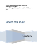 NYCDOE Passport to Social Studies Grade 5 Unit 3: Mexico Lesson #1