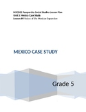 NYCDOE Passport to Social Studies Grade 5 Unit 3: Mexico Lesson #4