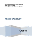 NYCDOE Passport to Social Studies Grade 5 Unit 3: Mexico Lesson #5