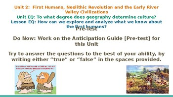 NYCDOE Passport to Social Studies Grade 6: Unit 2 Lessons 1-8 PP Slideshow