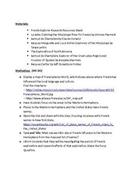 NYCDOE Passport to Social Studies Unit 2: 5th Gr European Exploration Lesson #6