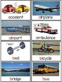 NYCDOE PreK  Transportation Vocabulary Cards w/Digital Activities