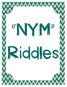 NYM Riddles