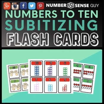 NUMBER REPRESENTATION CARDS
