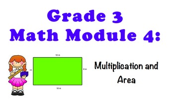 NYS 3RD GRADE MATH MODULE 4 NOTEBOOK LESSONS (COMMON CORE)