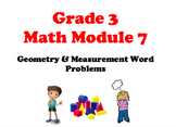 NYS 3RD GRADE MATH MODULE 7 NOTEBOOK LESSONS (COMMON CORE)