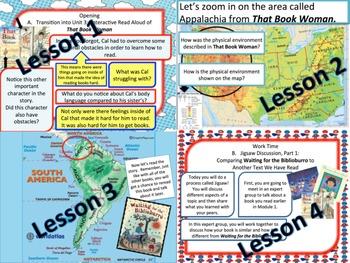 NYS 3rd Grade ELA Common Core Module 1 Unit 3 Lessons 1 - 8 Bundle