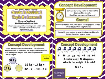 NYS 3rd Grade Math Module 2 Topic B Lessons 6, 7, 8, 9 ONLY