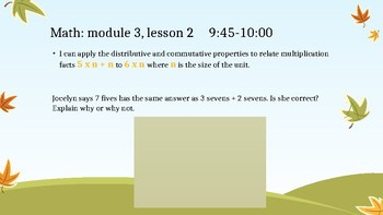 NYS 3rd Grade Math Module 3 Slides *EngageNY Aligned*
