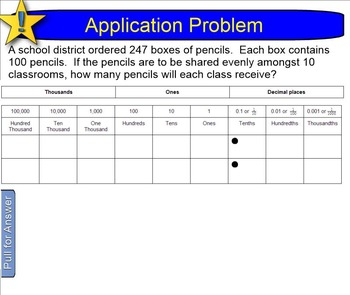 NYS 5th Grade Math Module 1 (ALL Lessons 1-16) Smart Noteb