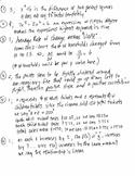 NYS Algebra 1 Common Core Regents Exam Part 1,2,3,4 Answer