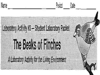 NYS Beaks of Finches Lab