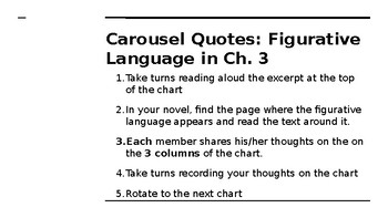 NYS CC ELA GR6 Module 2A Unit 1 Lesson 3: Rules to Live By