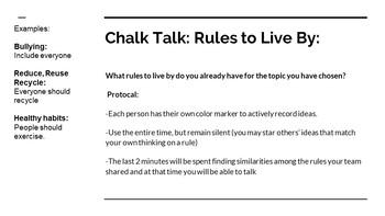 NYS CC ELA GR6 Module 2A Unit 2 Bundle: Rules to Live By