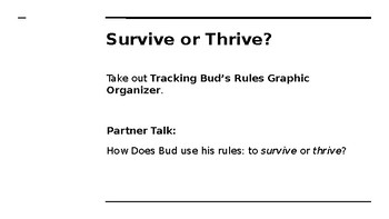 NYS CC ELA GR6 Module 2A Unit 2 Lesson 10: Rules to Live By