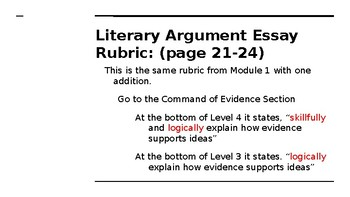 NYS CC ELA GR6 Module 2A Unit 2 Lesson 12: Rules to Live By