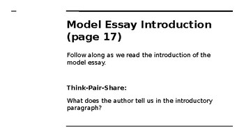NYS CC ELA GR6 Module 2A Unit 2 Lesson 14: Rules to Live By