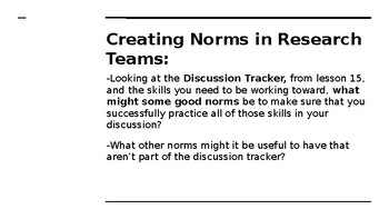 NYS CC ELA GR6 Module 2A Unit 2 Lesson 16: Rules to Live By
