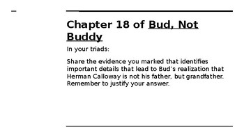 NYS CC ELA GR6 Module 2A Unit 2 Lesson 6: Rules to Live By