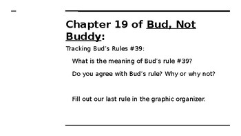 NYS CC ELA GR6 Module 2A Unit 2 Lesson 7: Rules to Live By
